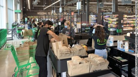 Amazon is ramping up openings of Amazon Fresh brick-and-mortar grocery stores.