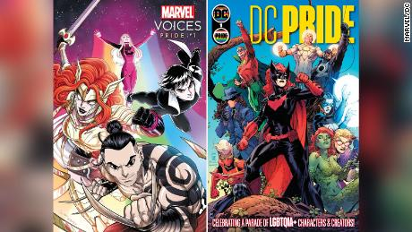 DC and Marvel Comics will celebrate Pride month with comics featuring their queer characters