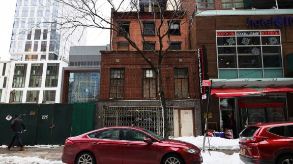 The 227 Duffield Street building is on February 3, 2021 shortly after the NYC Landmarks Preservation Commission designated the Landmarks Preservation Commission individual landmark after years of advocating by community members.