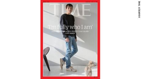 Elliot Page becomes first trans man to appear on Time magazine cover