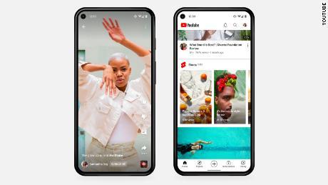 YouTube Shorts имеет многие из тех же функций, что и другие приложения для коротких видео, включая TikTok.