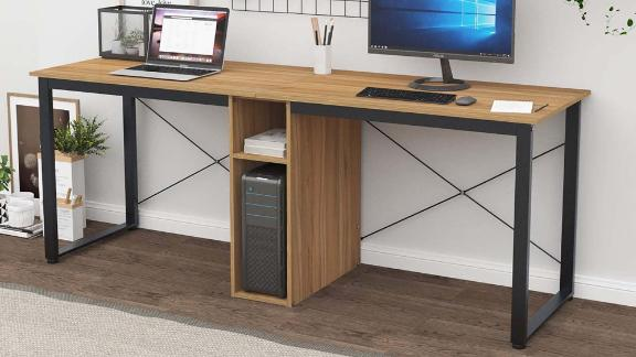 Sogesfurniture Large Double Workstation Desk