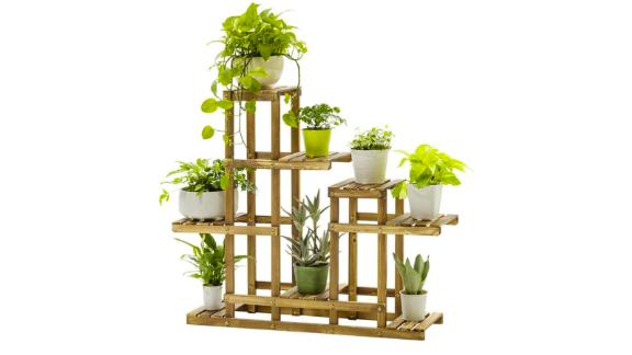 Wooden 5-Tier Flower Pot Holder