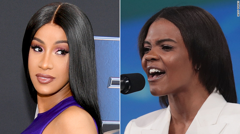 Cardi B and Candace Owens engage in epic Twitter battle