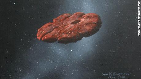 Міжзоряний об'єкт Оумуамуа може бути частиною планети, подібної до Плутона