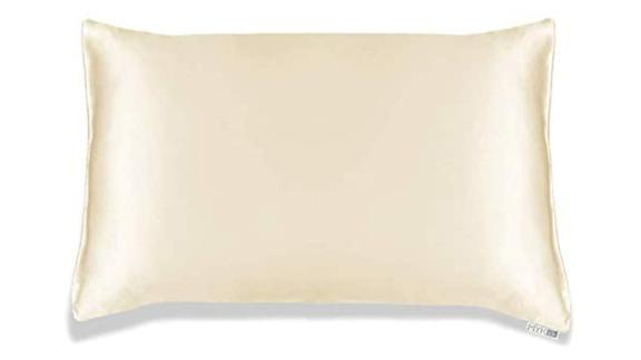 MYK Silk Natural Silk Pillowcase with Cotton Underside