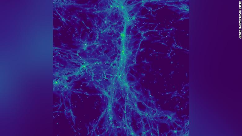 First images of the 'cosmic web' reveal hidden dwarf galaxies