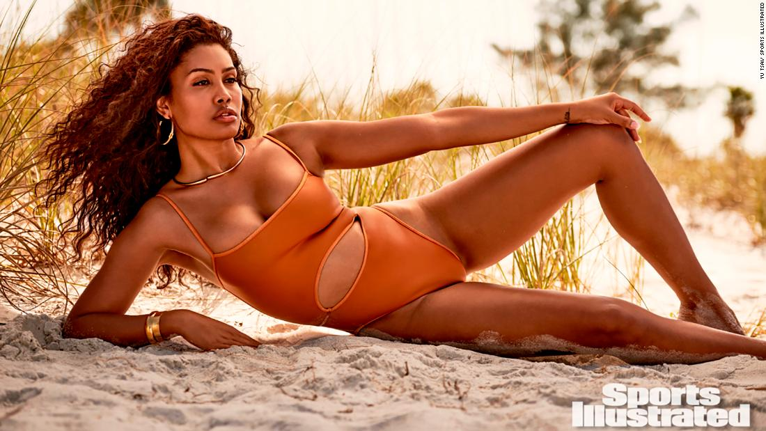 Leyna Bloom makes history in Sports Illustrated Swimsuit Issue