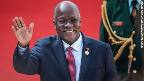 Tanzanian President John Magufuli attended the inauguration of Incumbent South African President Cyril Ramaphosa on May 25, 2019.