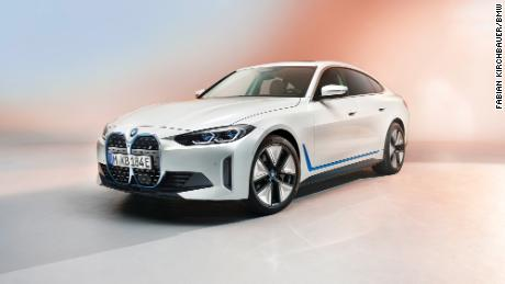 I4 Bmw Unveils A New Electric Car But Says It Isn T Counting Out Gas Engines Just Yet Cnn