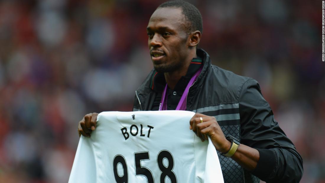Manchester United fan Usain Bolt gives his verdict on the season so far