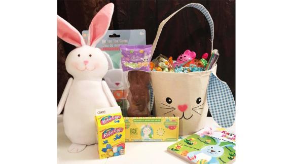 AbigaiJayne Personalized Prefilled Easter Basket