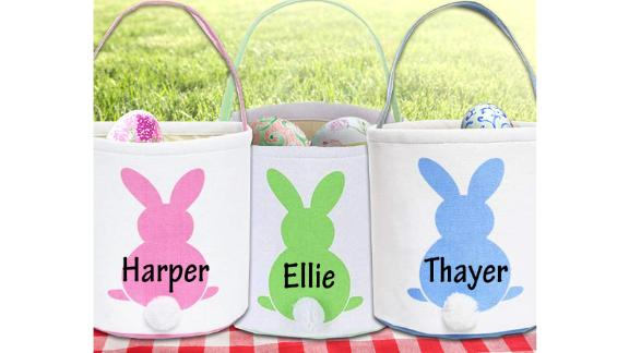 AprilandKiwi Personalized Easter Basket