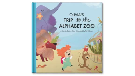 My Trip to the Alphabet Zoo Personalized Story Book