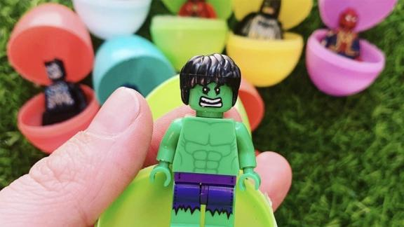 MisfitMamaGifts SuperHero Easter Eggs