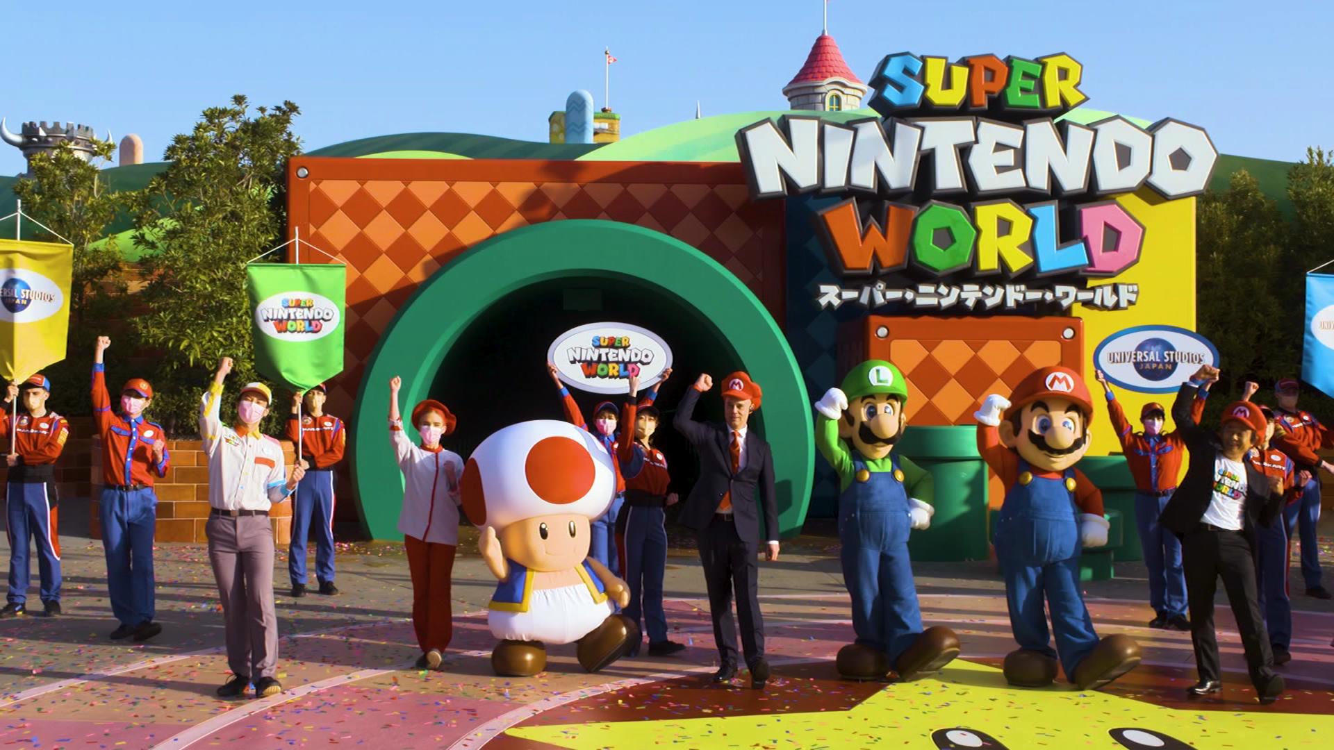 Super Nintendo World opens at Universal Studios Japan | CNN Travel
