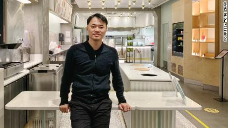 Yong Zhao, CEO and co-founder of Junzi Kitchen.