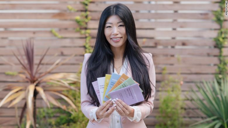 She publishes booklets in seven languages to help Asian Americans and others face hate crimes