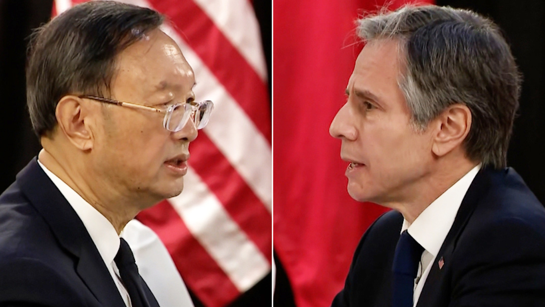 US-China: Alaska dispute an inauspicious start to a new era of relations -  CNN