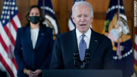 Speaking out against hate crimes, Biden tries to restore moral clarity to the presidency