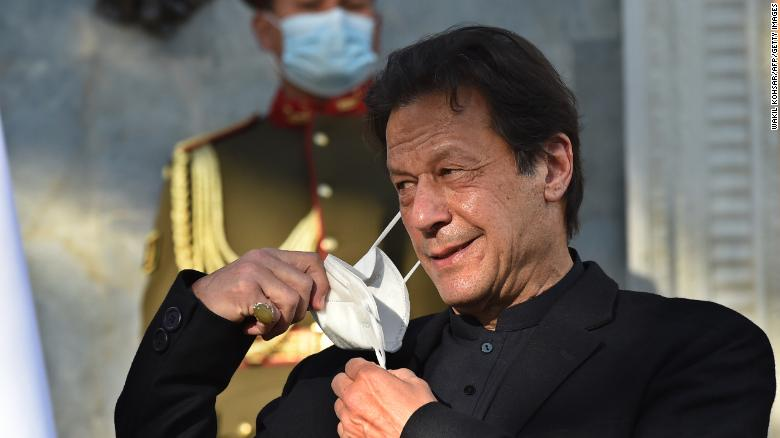 Imran Khan, Pakistan's Prime Minister, tests positive for Covid-19