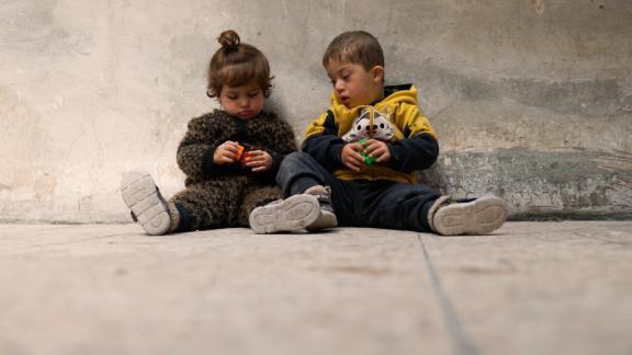 syria down syndrome children center damon pkg vpx_00000127.png