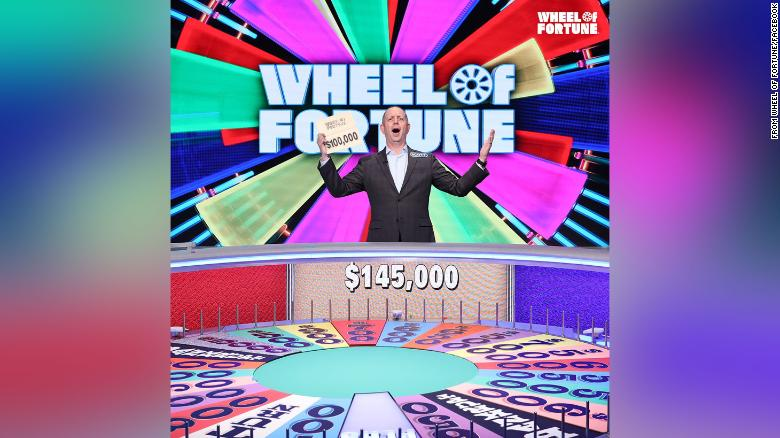 Scott Kolbrenner won $145,000 on 'Wheel of Fortune.' Now he's giving it all to charity