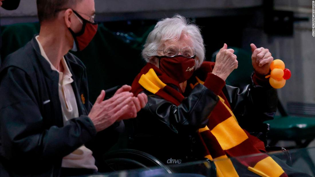 Sister Jean, the 101-year-old basketball-loving nun, on praying for her favorite team