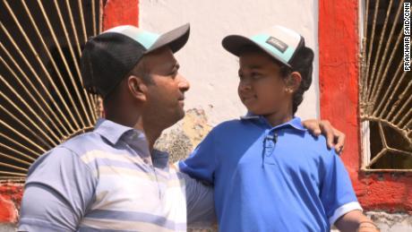 Mehboobani with his daughter, Ashmi.