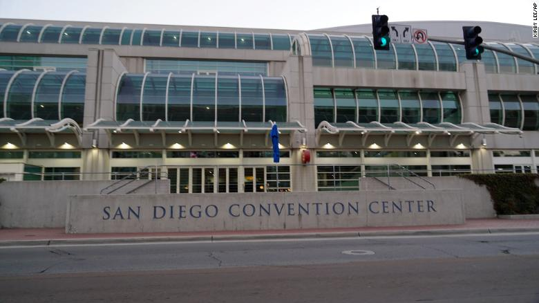 San Diego Convention Center to be used to house migrant children