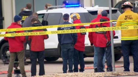 10 people killed after gunman opens fire at Boulder, Colorado, grocery store