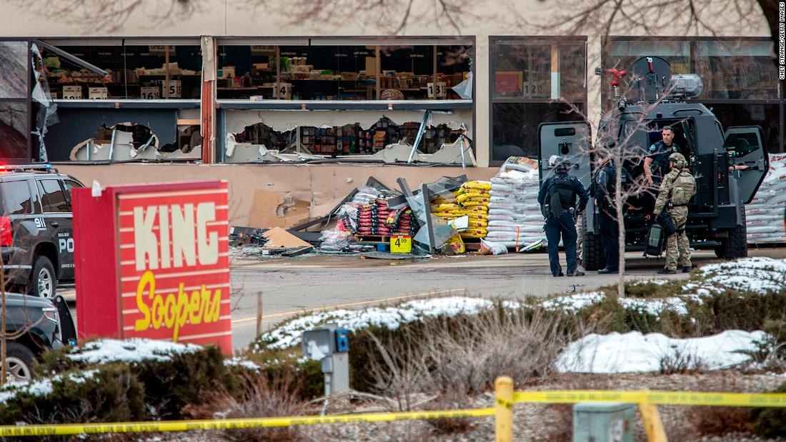 Police units were dispatched to the scene at approximately 2:40 p.m. MT, according to Boulder Police Chief Maris Herold.