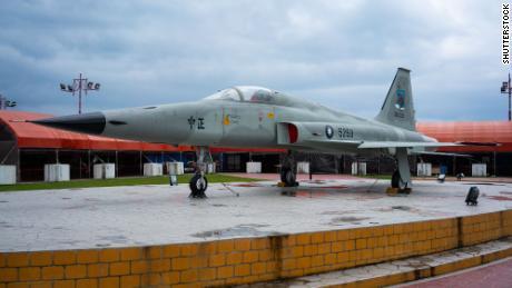 फरवरी 2018 की यह फाइल फोटो ताइवान के एफ -5 ई फाइटर जेट को दिखाती है