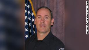 Officer who responded to a mass shooting in Boulder was killed. He leaves behind seven children