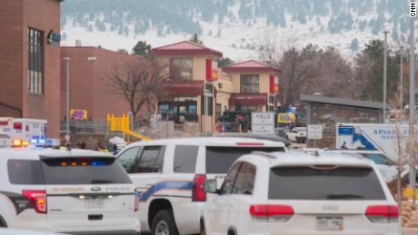 Hear witnesses recount how the Colorado supermarket shooting unfolded