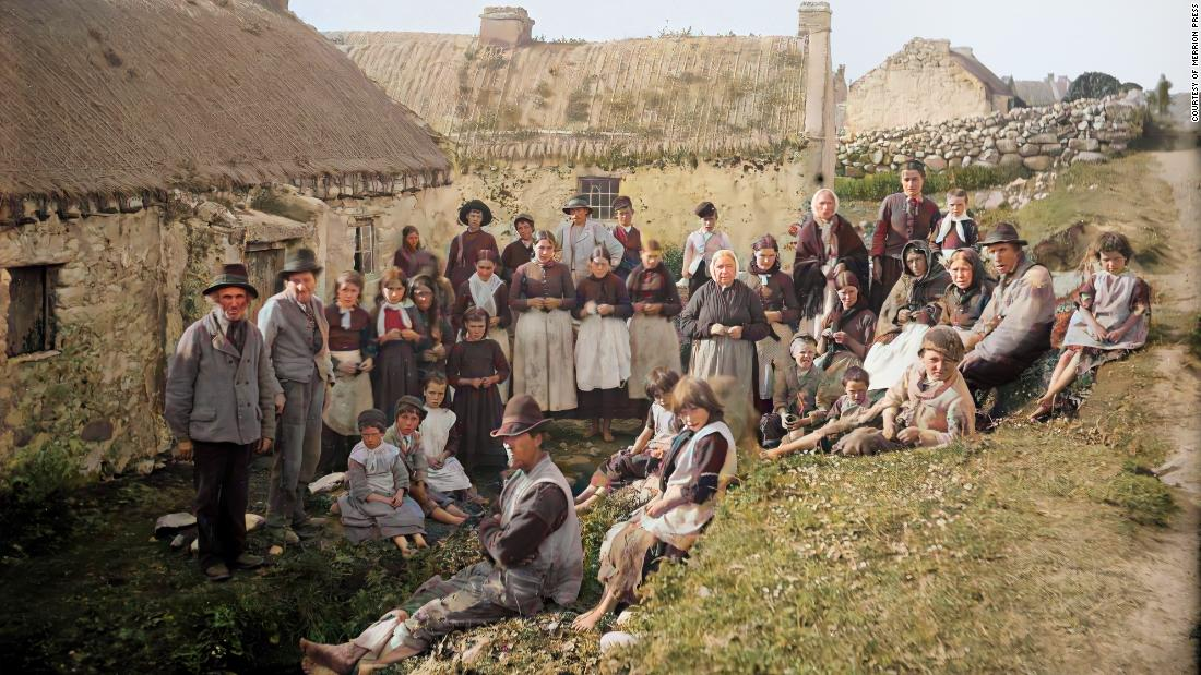 AI photo restoration shines a light on life in old Ireland