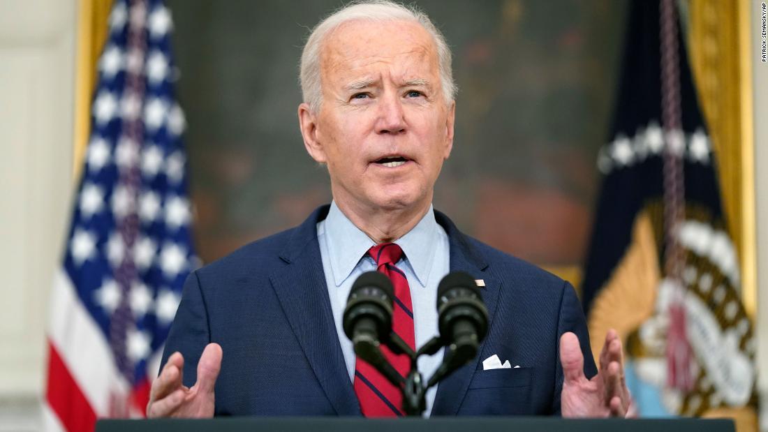 Live updates: President Biden's first news conference