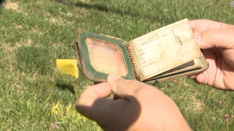 A Virginia school district is returning a woman's wallet almost 70 years after she lost it in her high school gym