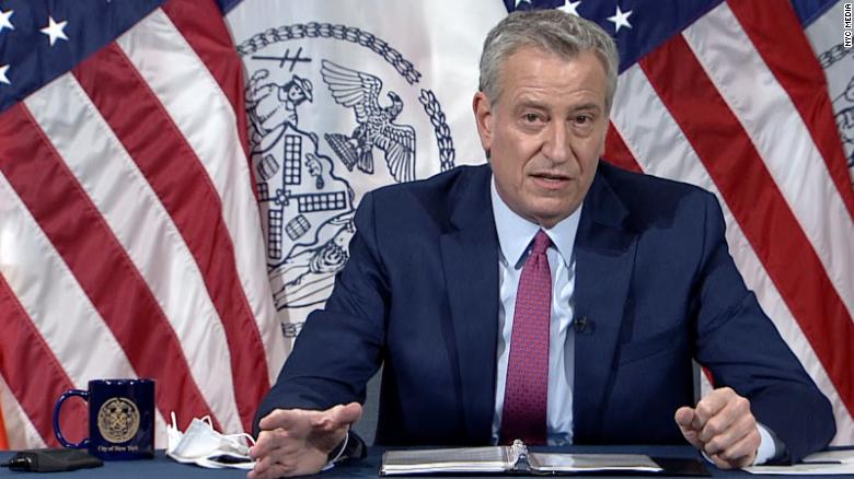 New York City mayor launches commission to address systemic racism