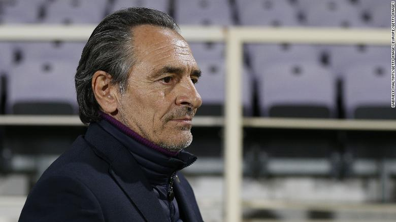 'A dark cloud has developed inside of me': Fiorentina coach Cesare Prandelli steps down due to 'profound distress'