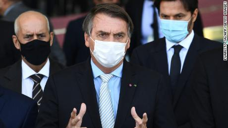 Brazilian Bolsonaro is facing a government investigation into his work with Covid-19