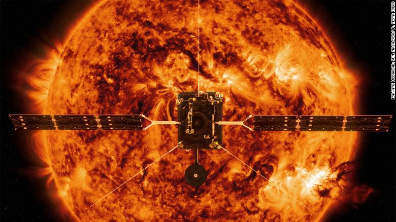 Powdered bones are keeping Solar Orbiter cool thanks to an Irish startup