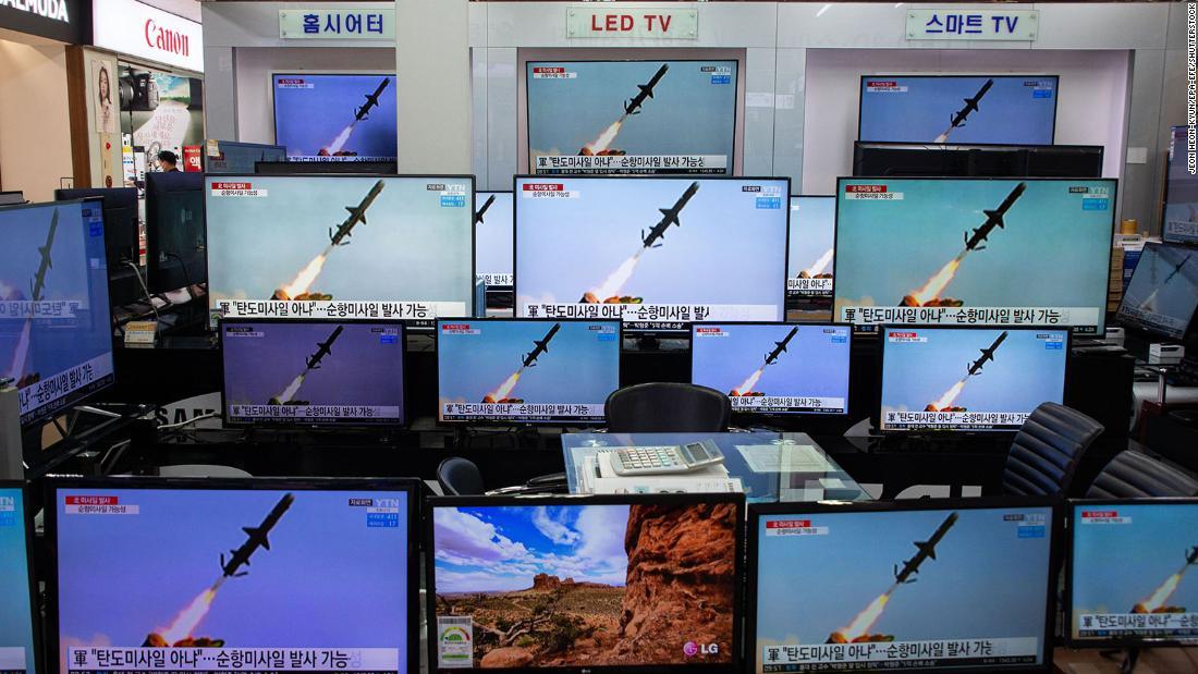 North Korea fires two ground-based ballistic missiles South Korea says – CNN