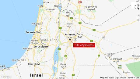 Jordan police detain scores of activists, break up protests