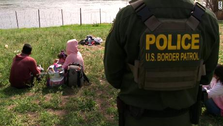 Families are 'self-separating' in Mexico after being expelled from the US, Border Patrol says