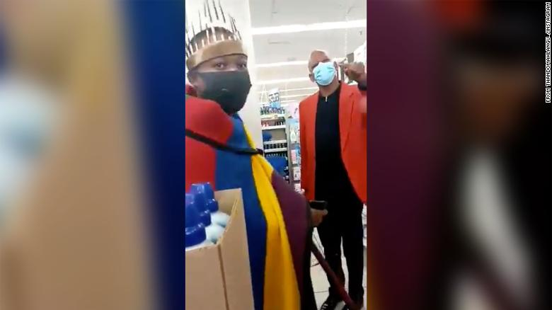 """I'm always chased away and victimized,"" says shopper told his traditional clothing is 'indecent' in South Africa mall"
