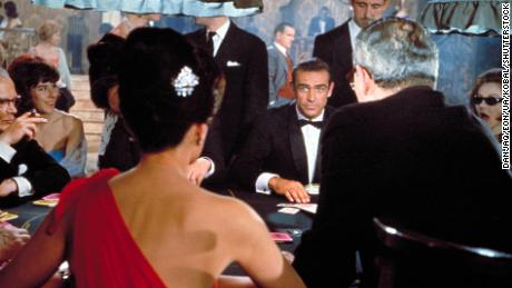 "A scene from ""Dr. No"""