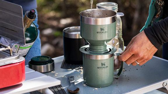 Stanley The Camp Pour Over Set Hammertone Green Brand