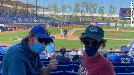A new season: Sitting at a baseball game, I saw the promise of a post-Covid life