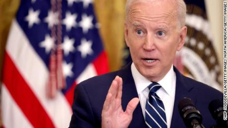 Fact-checking Biden's first news conference as president